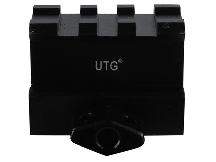 Leapers UTG High Profile 3-Slot Compact Picatinny-Style Riser Mount AR-15 Flat-Top Matte
