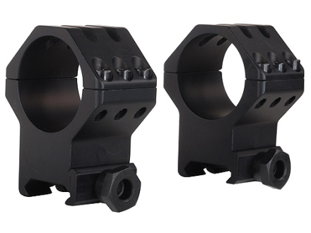 Weaver 30mm Tactical 6-Hole Picatinny-Style Rings Matte Extra-High