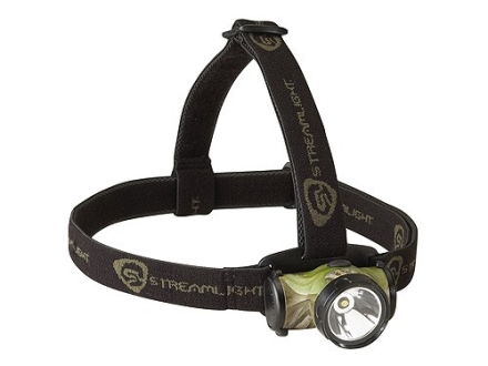 Streamlight Enduro Headlamp White LED with Batteries (2 AAA Alkaline) Polymer Camo