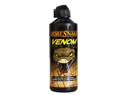 Hoppe's BoreSnake Venom Gun Oil with T3 4 oz Liquid