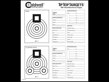 Caldwell Tip Top Target Benchrest