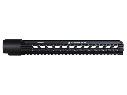 Mako One-Piece Handguard Tri Rail HK-91, G3, CETME Aluminum Black