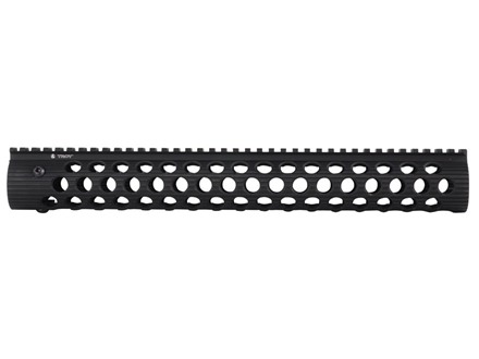 "Troy Industries 15"" Alpha Battle Rail Modular Free Float Handguard AR-15"