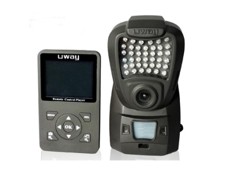 HCO UWAY NightTrakker NT50 Infrared Digital Game Camera with Color Viewing Screen 5.0 Megapixel HCO Stem Camo