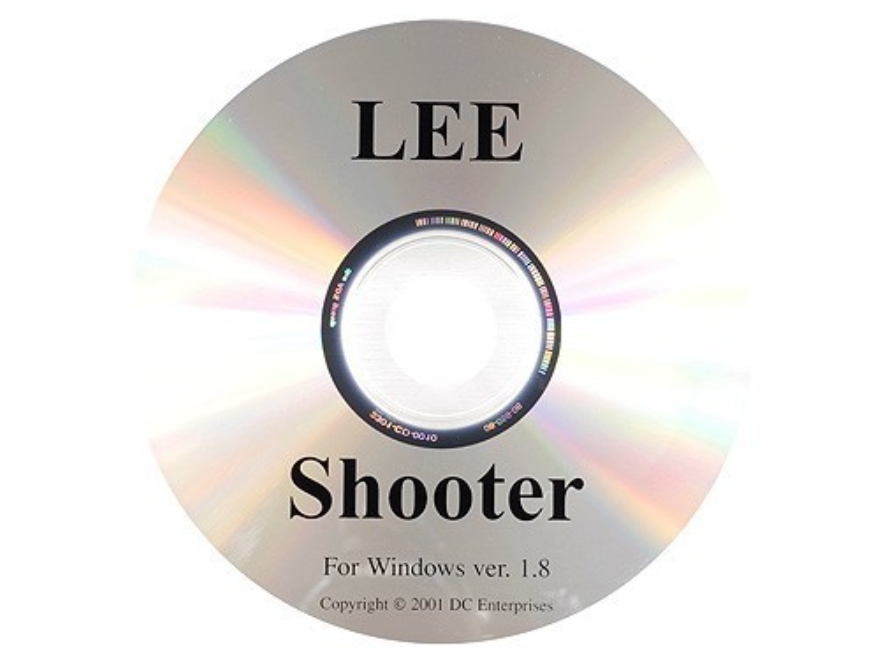 "Lee ""The Shooter Program"" Software CD-ROM"