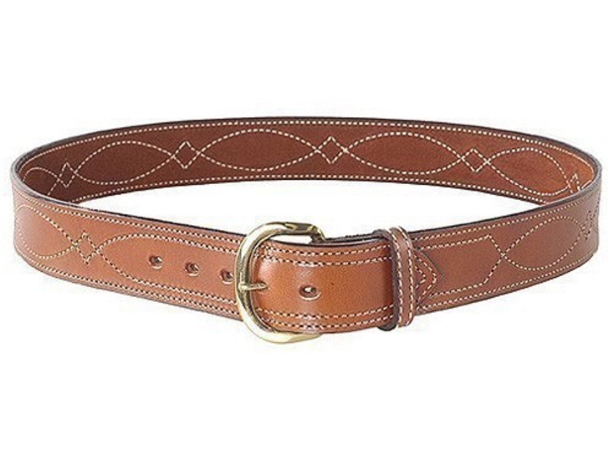 bianchi b9 fancy stitched belt 1 3 4 suede lined leather