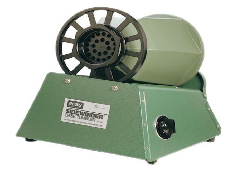 RCBS Sidewinder Rotary Case Tumbler 110 Volt