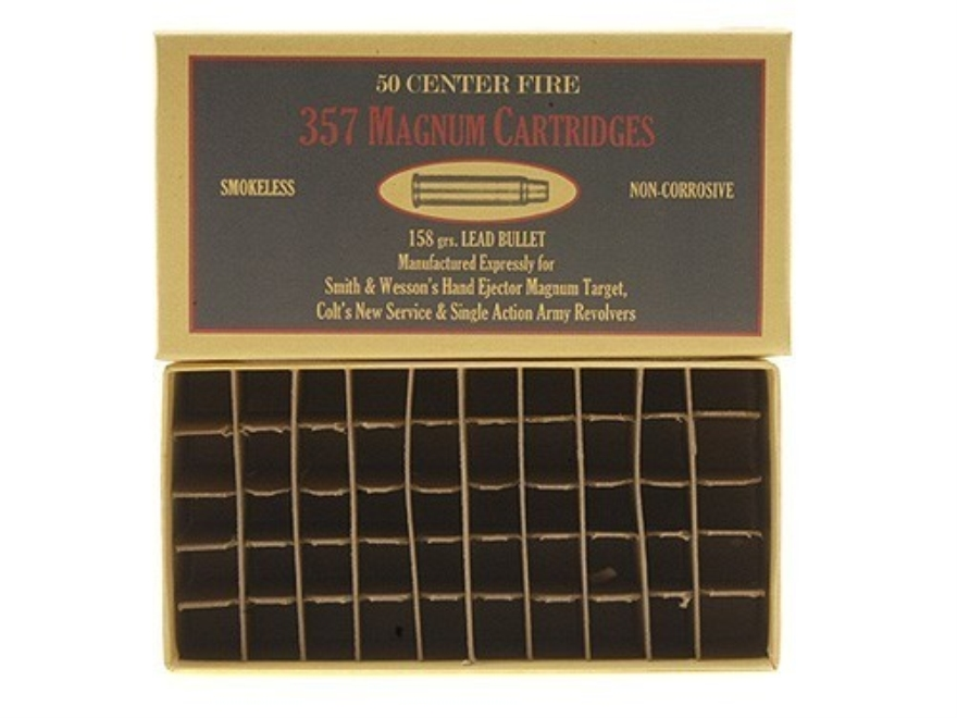Cheyenne Pioneer Cartridge Box 357 Magnum Chipboard Package of 5