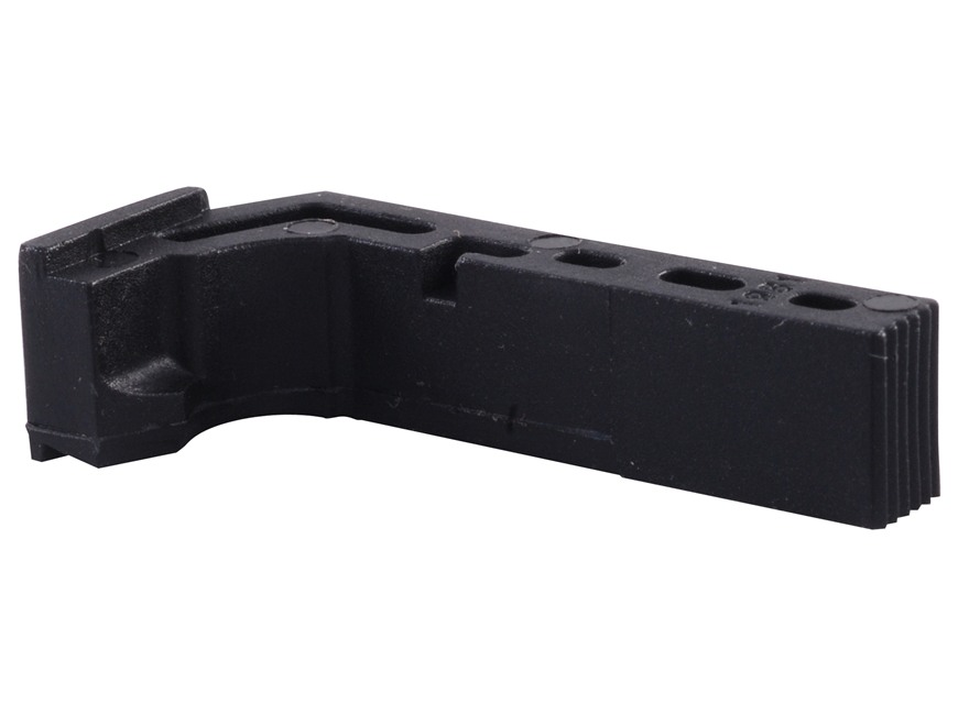 Lone Wolf Extended Magazine Release Glock 17, 19, 22, 23, 24, 25, 26, 27, 28, 31, 32, 33, 34, 35, 37, 38, 39 Polymer Black
