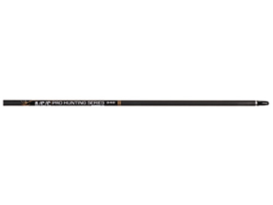 Easton A/C/C Pro Hunting Series 390 Carbon and Aluminum Arrow Shaft Black Pack of 12