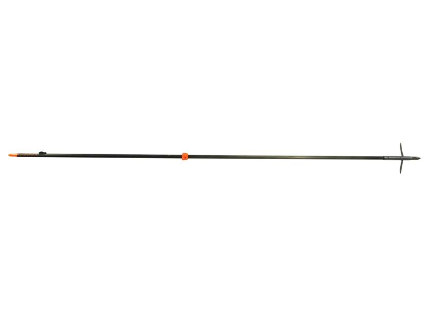 AMS Tiger Shark LGT Bowfishing Arrow with Mayhem Arrow Point White