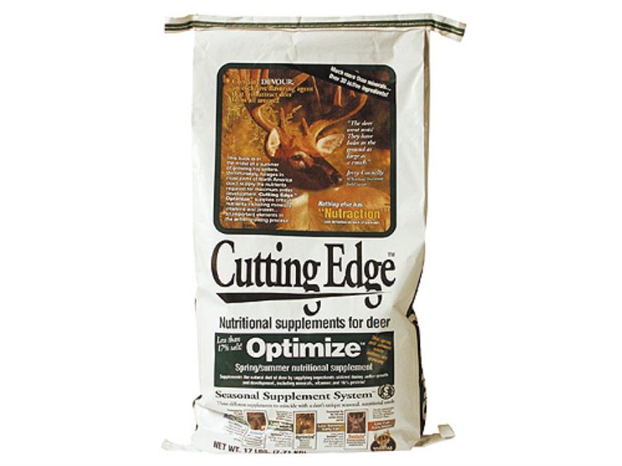 Whitetail Institute Cutting Edge Optimize Deer Supplement Granular 17 lb