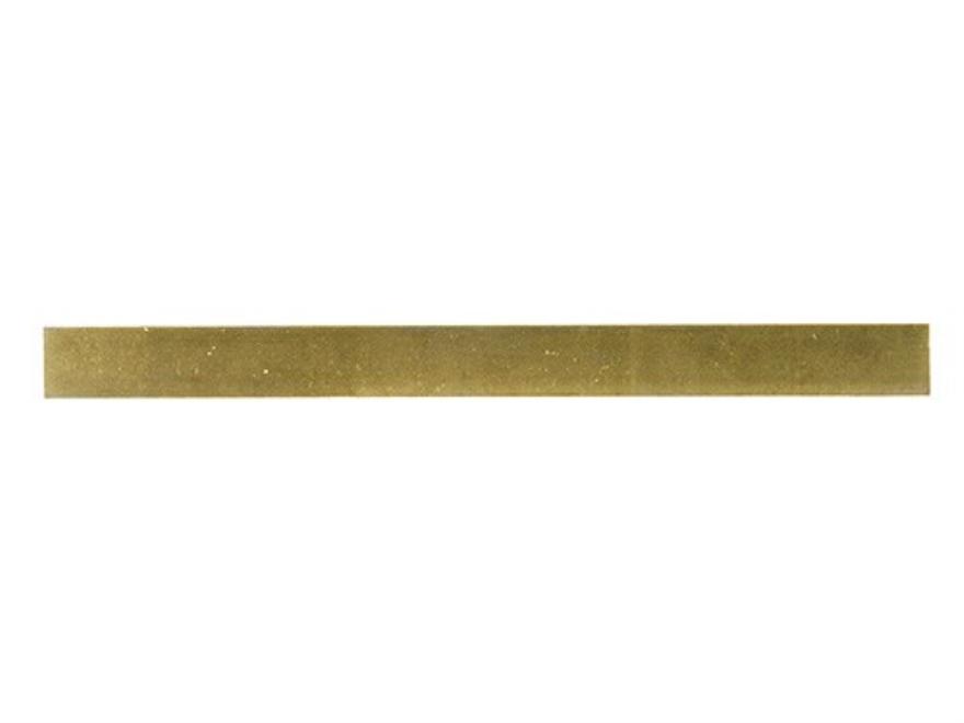 """Baker Brass Flat Bar 3/8"""" Thick 1"""" Width 18"""" Length"""