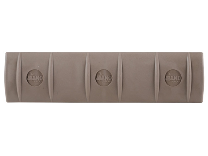 Mako Full Profile Picatinny Rail Cover Long Polymer Coyote Tan