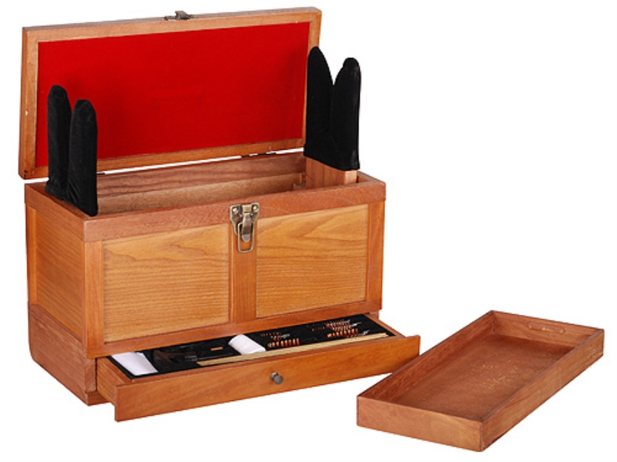 Winchester Gun Cleaning Toolbox with 17-Piece Gun Cleaning Kit