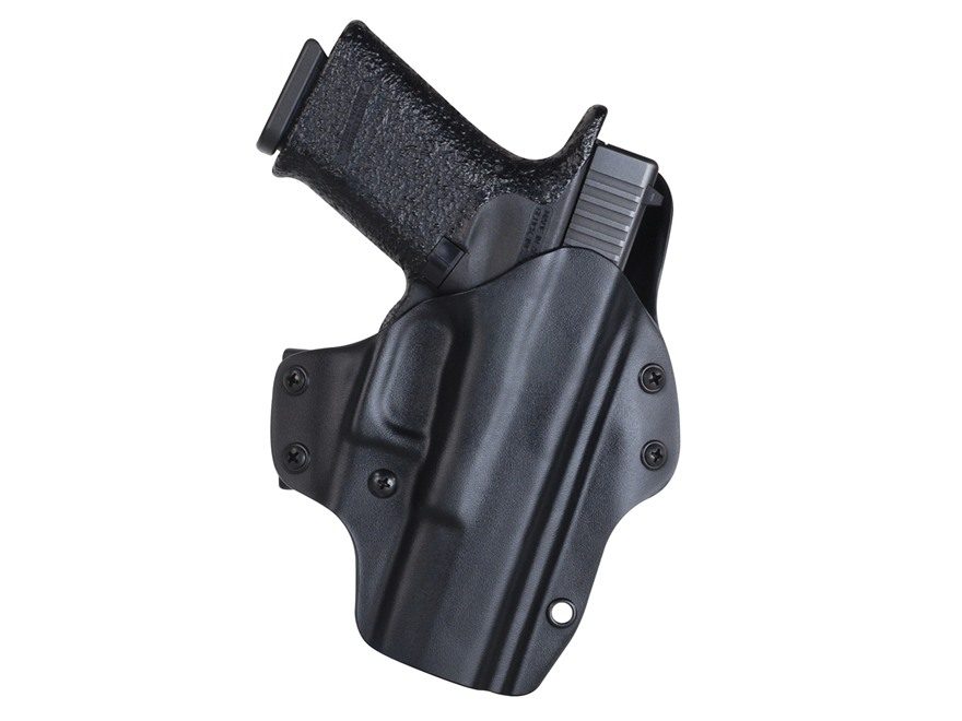 "Blade-Tech Eclipse Outside the Waistband Holster Right Hand with 1-1/2"" Belt Loop Glock 17, 22, 31  Kydex Black"