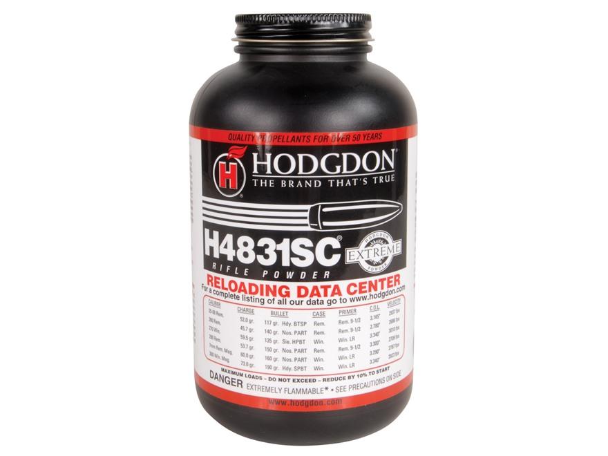 Hodgdon H4831SC Smokeless Powder