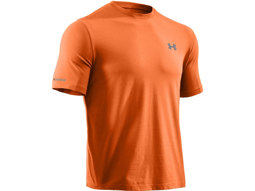 Under Armour Men's UA Charged Cotton Short Sleeve T-Shirt Cotton