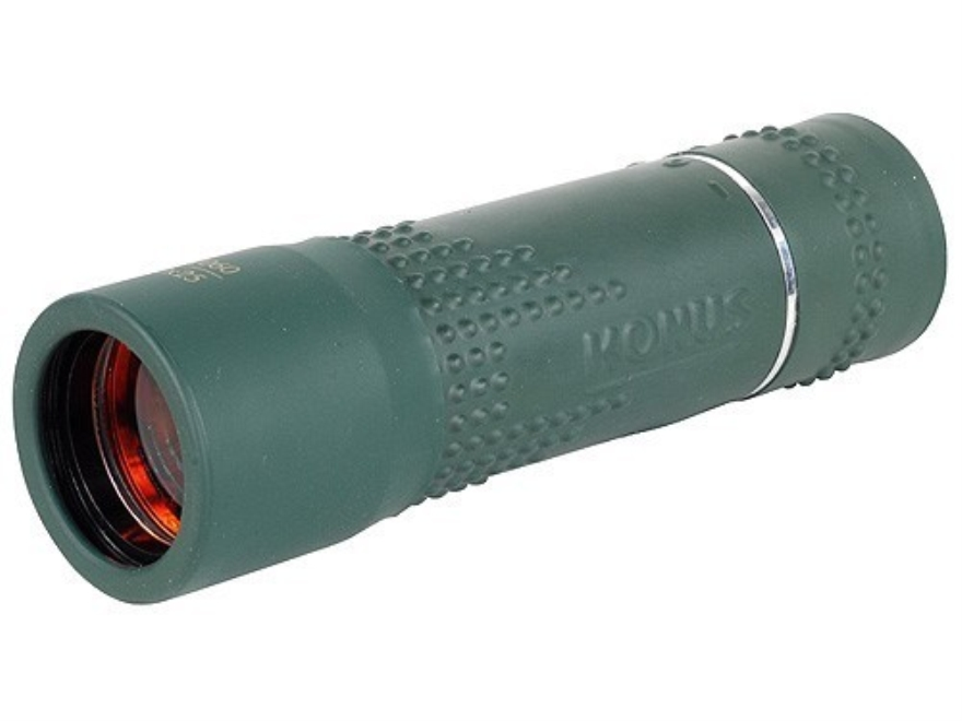 Konus Monocular 10x 25mm Rubber Armored Green