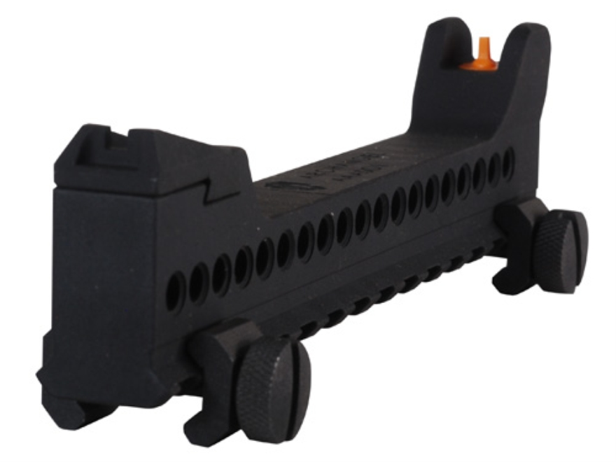 Archangel Auxiliary Sight for AR-15 Handguard Black