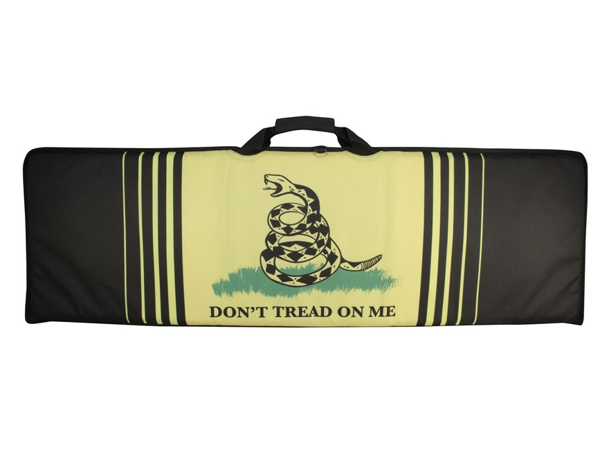 "MidwayUSA Freedom Series Rifle Case 46"" Gadsden Flag"
