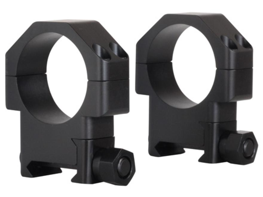 """TPS 30mm TSR """"W"""" Weaver-Style Rings Matte"""