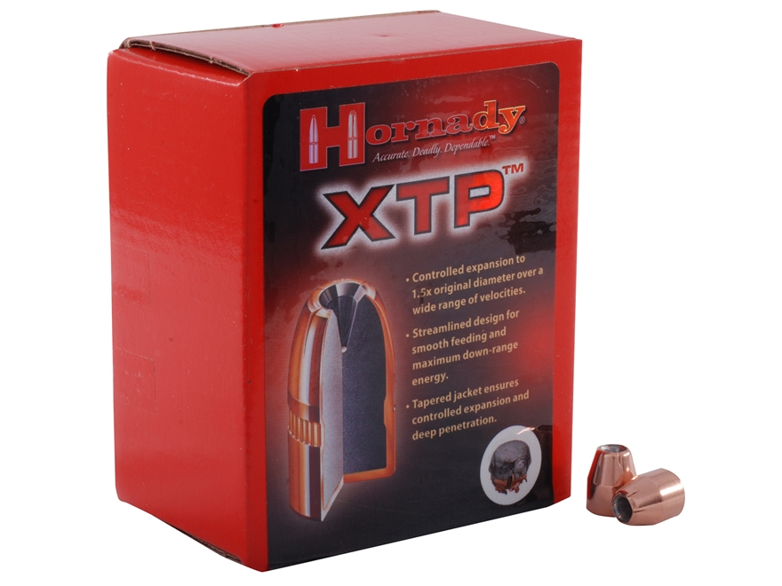 Hornady XTP Bullets 45 Caliber (451 Diameter) 200 Grain Jacketed Hollow Point Box of 100
