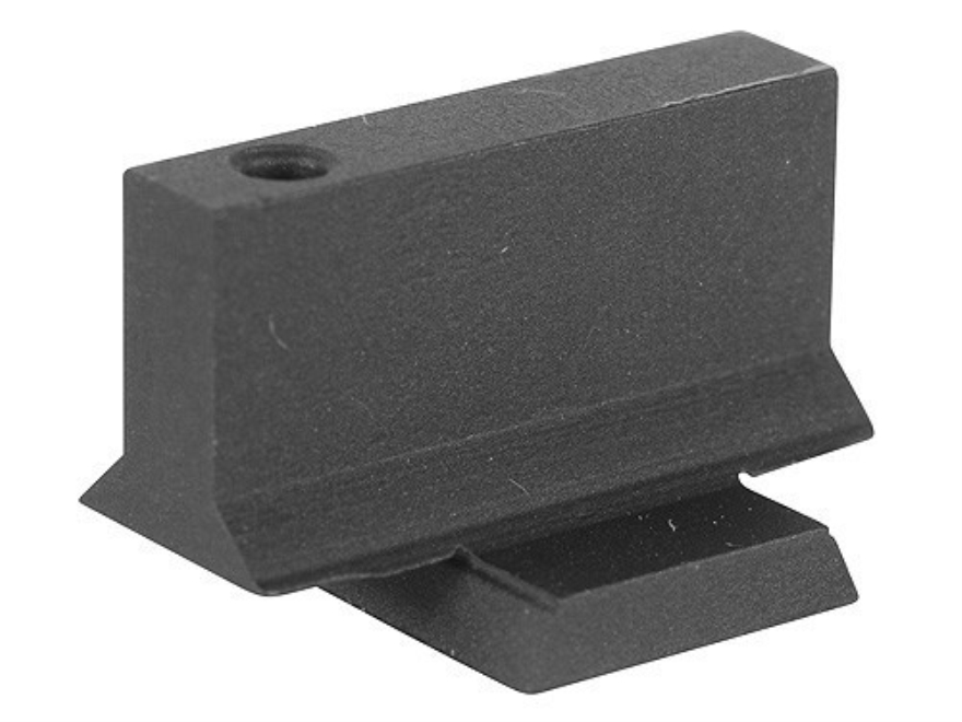 "Cylinder & Slide Strong Site Front Sight with Support Gusset 1911 Novak Cut .075"" Depth .295"" Height .125"" Width Steel Blue"