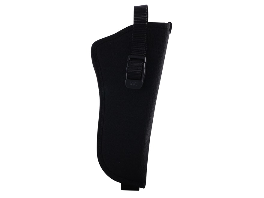 "GrovTec GT Belt Holster Right Hand with Thumb Break Size 18 for 6"" Barrel N-Frame Full Lug, Raging Bull Nylon Black"