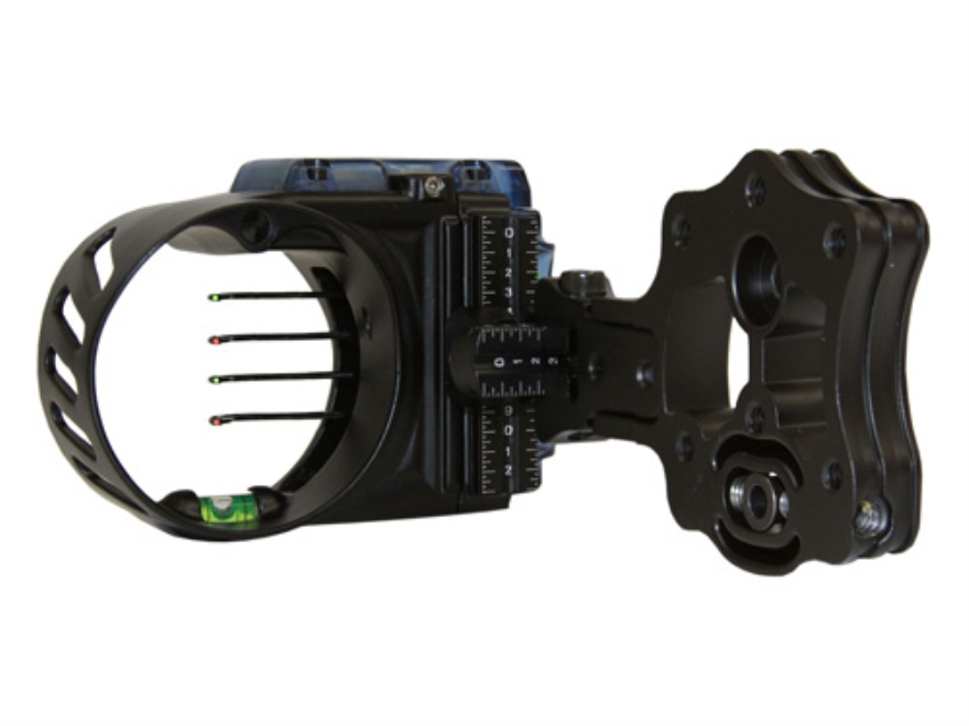 IQ Bowsight with Retina Lock Bow Sight Aluminum Black