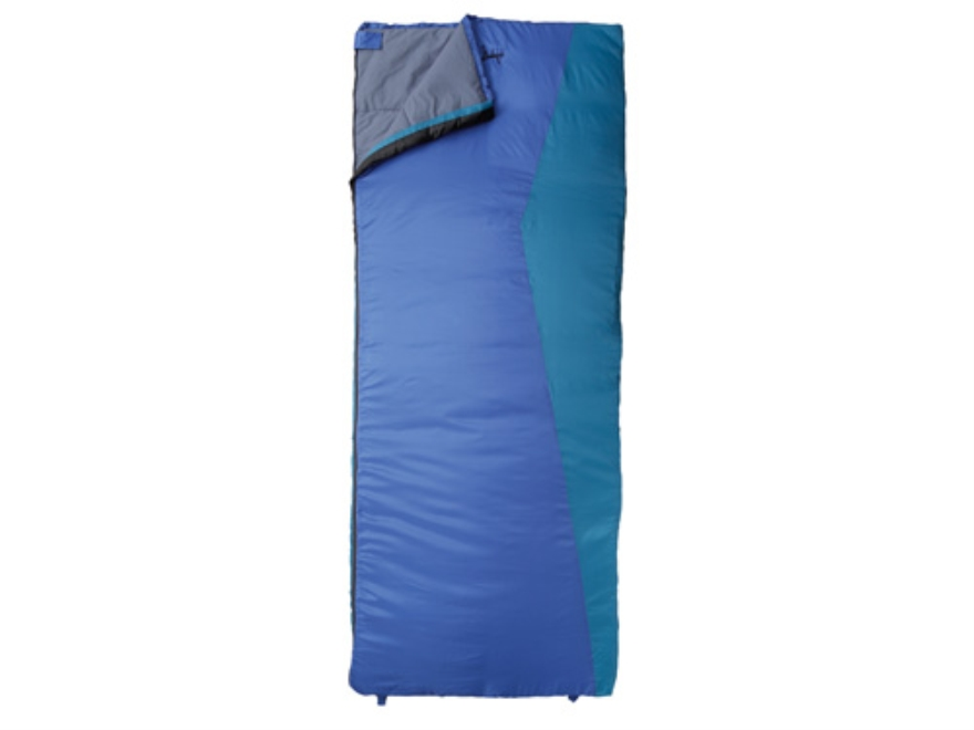"Slumberjack Telluride 30 Degree Sleeping Bag 32"" x 80"" Polyester Blue"