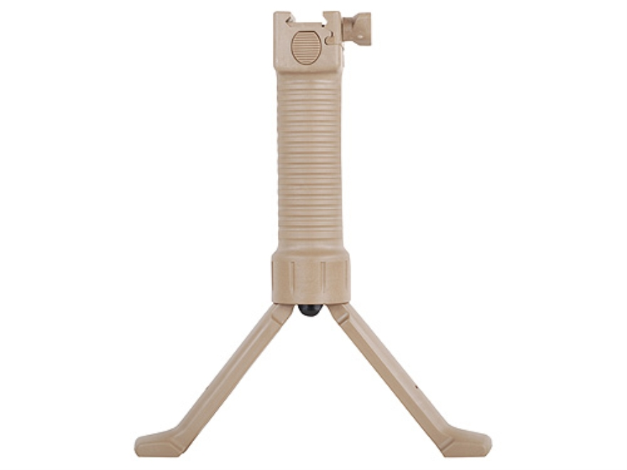Grip Pod Vertical Grip Bipod With Steel Reinforced Legs