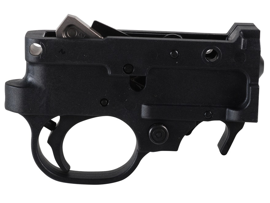 Ruger Trigger Guard Assembly Complete Ruger 10/22 Standard, Deluxe Sporter, International, Synthetic Black
