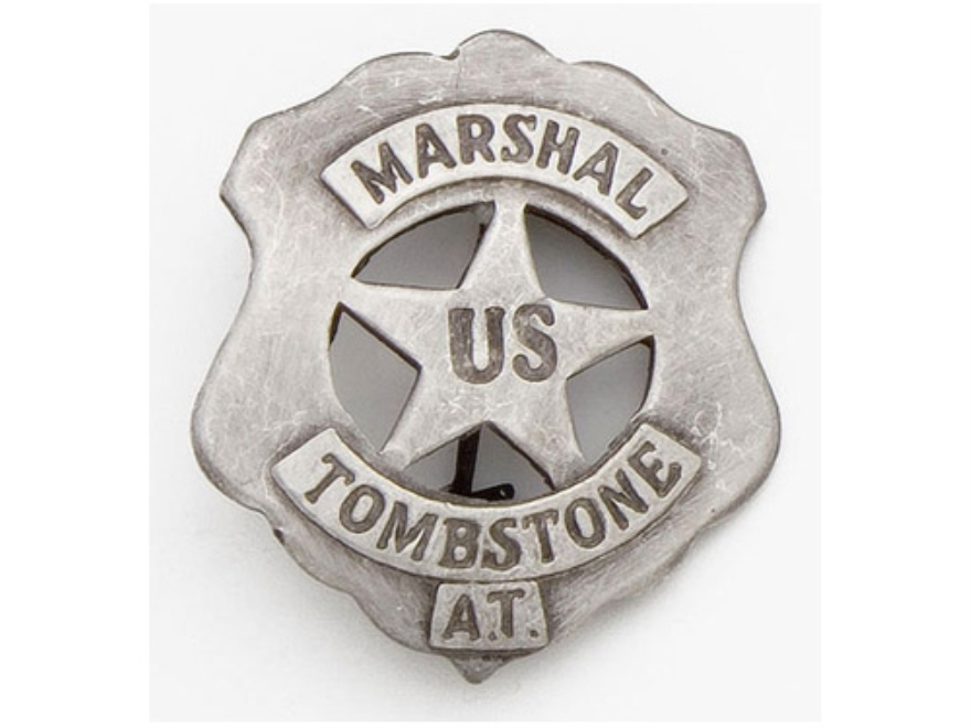 Collector's Armoury Replica Old West Deluxe US Marshal Tombstone Badge
