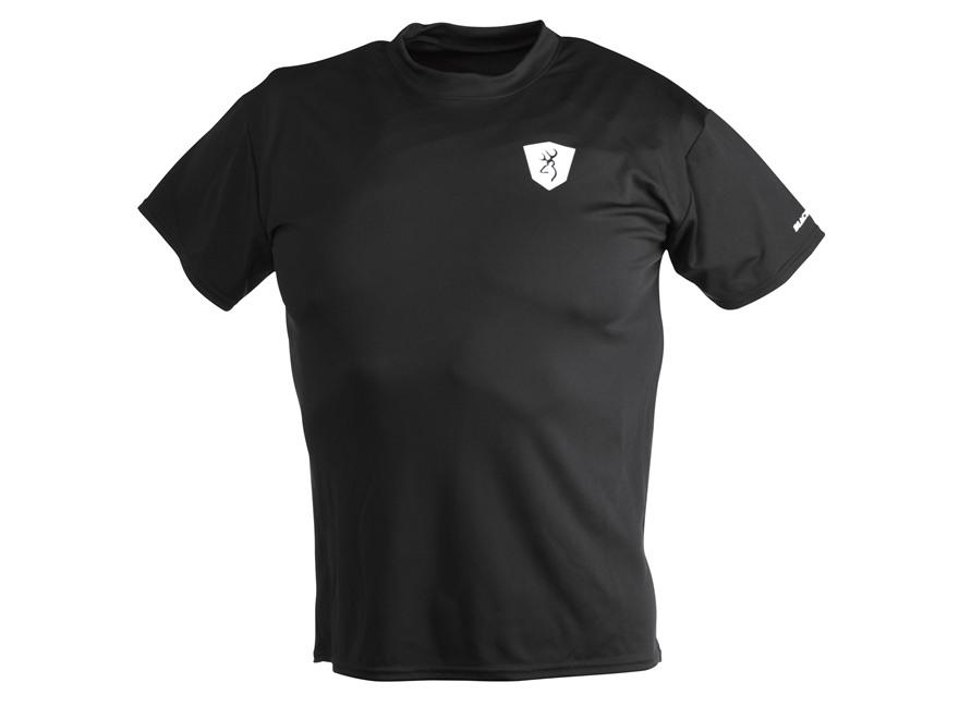 Browning Black Label Performance T-Shirt Short Sleeve Polyester Black