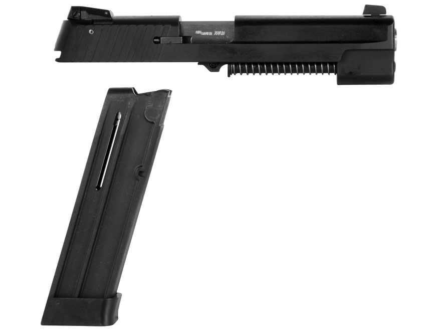 Sig Sauer Rimfire Conversion Kit Sig Sauer P228, P229 Non-Railed Frame 22 Long Rifle Matte with Adjustable Sights