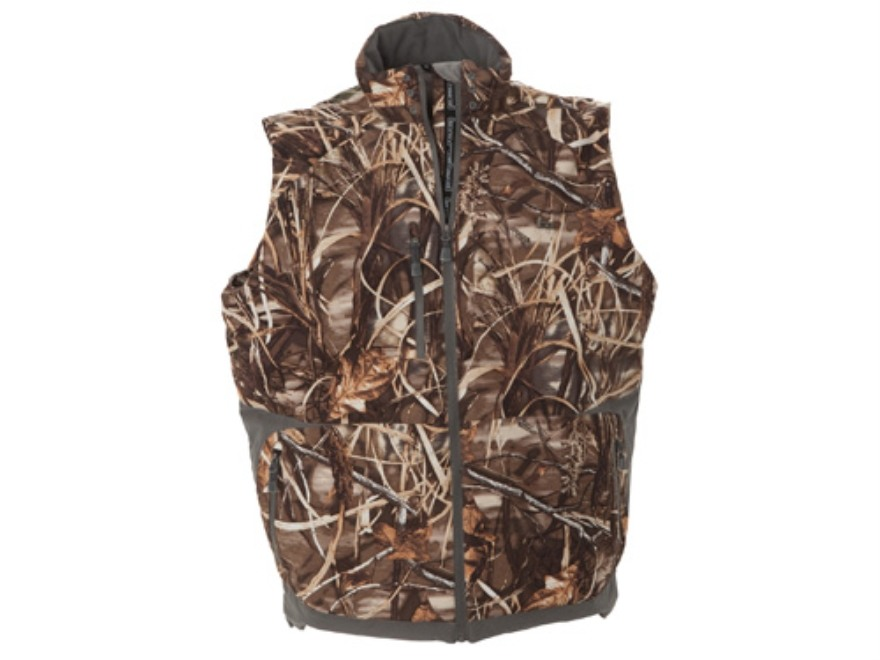 Banded Men's Closer 2L Waterproof Insulated Vest Polyester Realtree Max-4 Camo Large
