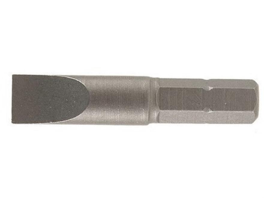 Wheeler Engineering Screwdriver Bit #33 Flat Blade Pack of 3