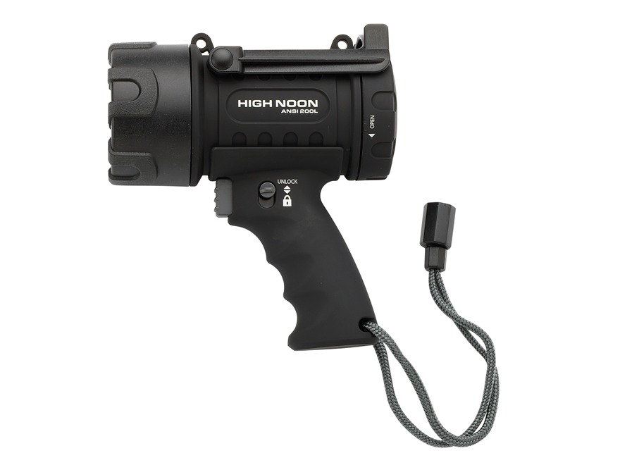 Browning High Noon Spotlight LED requires 3 C Batteries Polymer Black