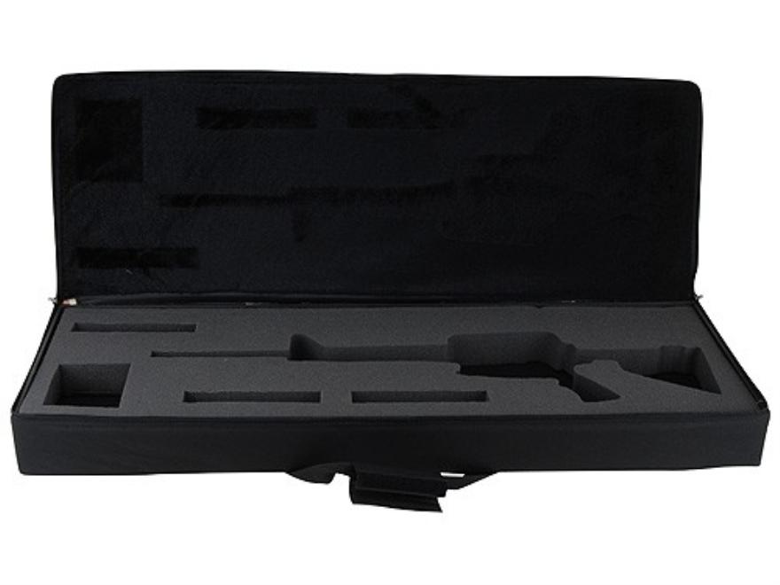 """Bulldog Hard-Sided Tactical Rifle Gun Case AR-15 Carbine 40"""" Nylon Black"""
