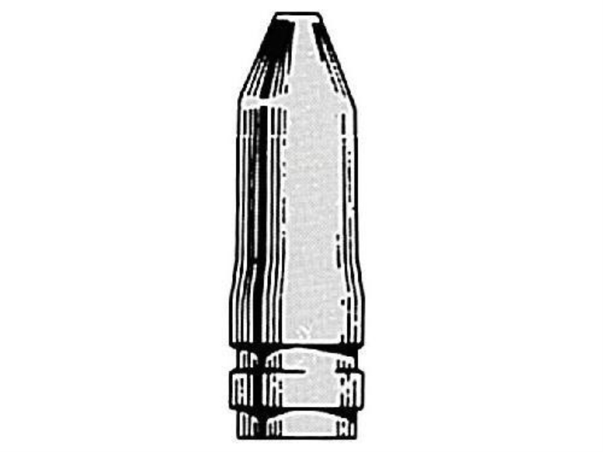 Saeco 1-Cavity Magnum Bullet Mold #070 284 Caliber, 7mm (285 Diameter) 145 Grain Truncated Cone Gas Check