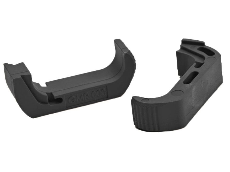 Vickers Tactical Extended Magazine Catch Glock Gen 4 Models 17, 19, 22, 23, 26, 27, 31, 32, 34, 35, 37 Polymer