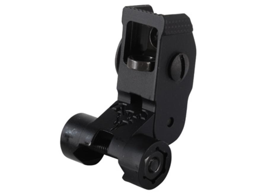DoubleStar Flip-Up Rear Sight AR-15 Flat-Top Aluminum Matte
