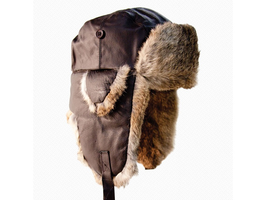 Yukon Tracks Alaskan Leather Bomber Hat Leather