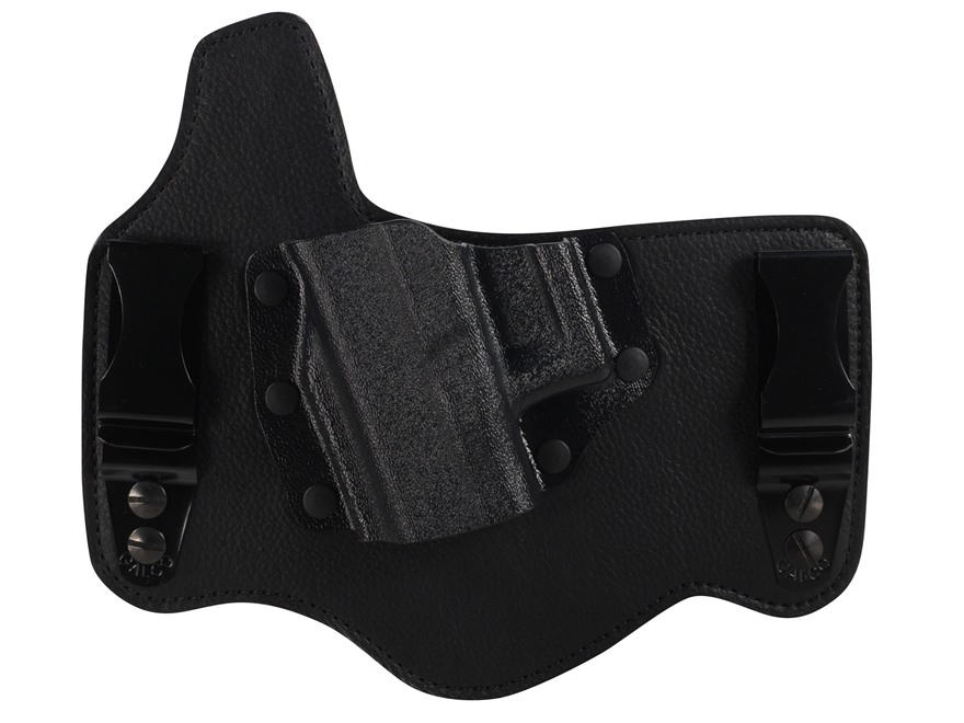 Galco King Tuk Tuckable Inside the Waistband Holster Glock 17, 19, 26, 22, 23, 27  Leather and Kydex Black