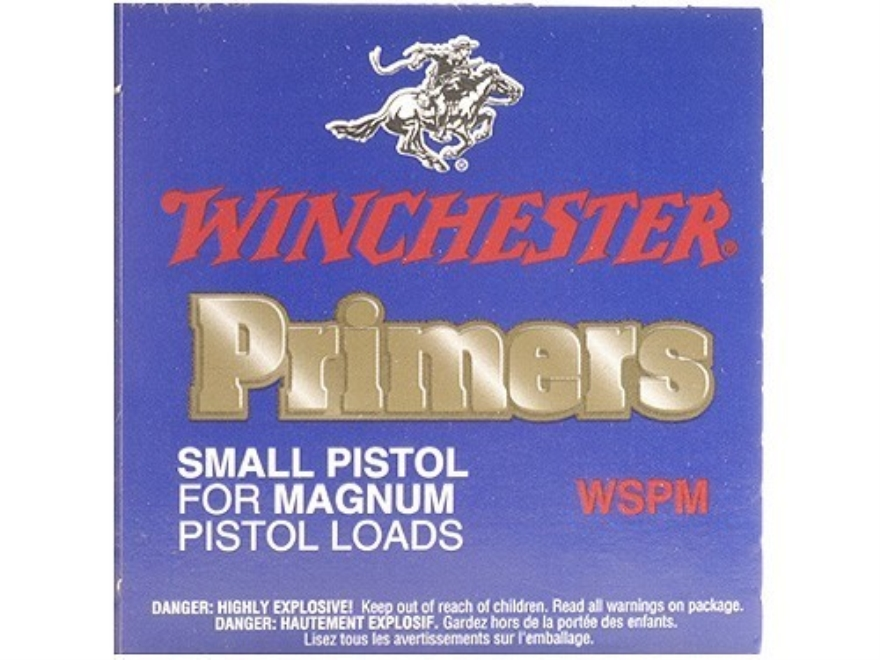 Winchester Small Magnum Pistol Primers #1-1/2M