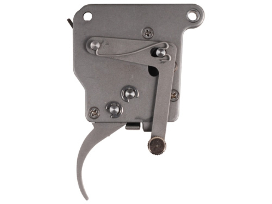 Jewell Rifle Trigger Remington 700, 40X with Bottom Safety 1-1/2 oz to 3 lb Stainless Steel