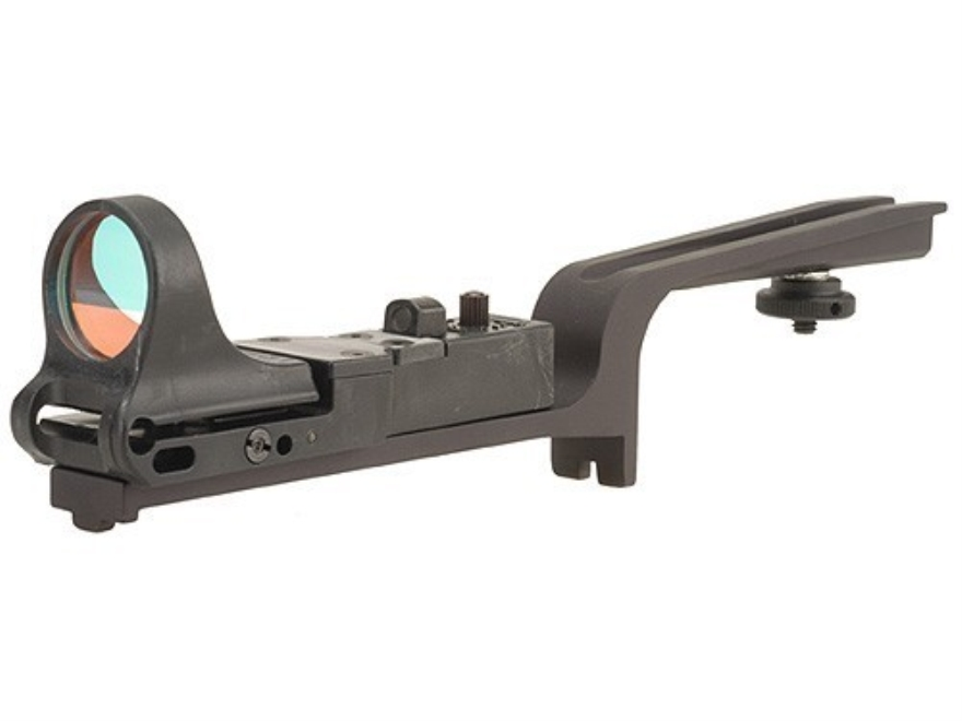 C-More Scout Reflex Sight 8 MOA Red Dot with AR-15 Carry Handle Mount Polymer Matte