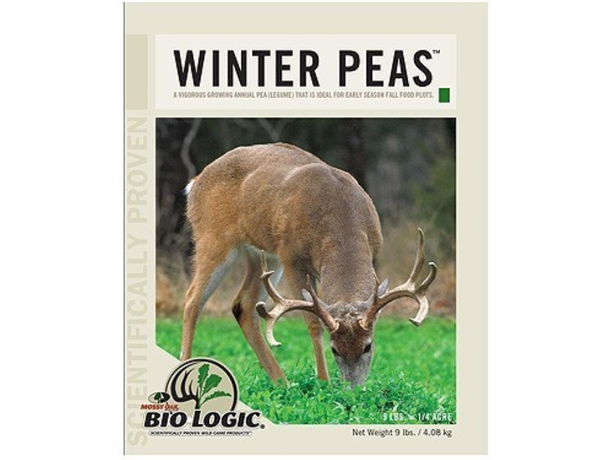 Biologic Winter Pea Annual Food Plot Seed 10 lb