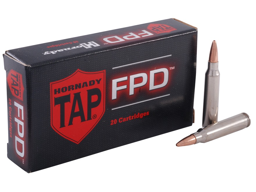 Hornady TAP Personal Defense Ammunition 223 Remington 75 Grain Jacketed Hollow Point Bo...
